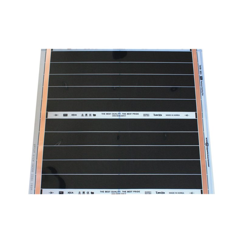 50 x 60 cm Rexva Xica PTC-306 - 220 Volt Karbon Isıtıcı Film